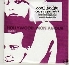 (K141) Hollywood Mon Amour, Call Me - DJ CD