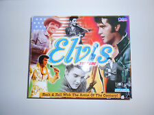 Elvis The Game, Trivia, Elvis Presley Collectible, by Cadaco from 2000
