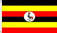 3' x 2' UGANDA FLAG Ugandan Flags Africa African