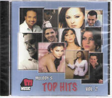 MELODY'S TOP HITS: Hakami, Mai, Rashed, Ehab, Kazem, Hamada Helal ~Arabic mix CD