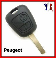 Coque Plip Clé Peugeot 107 207 307/Citroen C1 C2 C3 C4 C5/Toyota Aygo + Lame 7mm