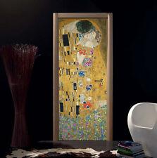 Adesivo per porte Bubble Free no bolle   Sticker per porta Il Bacio di Klimt