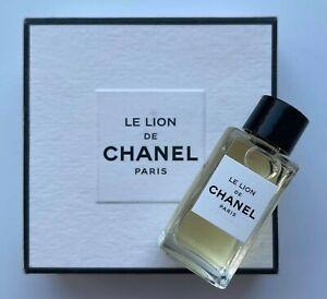 Chanel LE LION DE CHANEL Les Exclusifs EDP 4 ml 0.12 fl oz miniature VIP GIFT