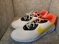 Nike Air Max OKETO Running Sneaker Shoes White Yellow AQ2235-102 Men's size 11