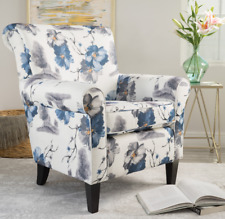 Living Room Traditional Upholstered Chair Chairs for sale | eBay
