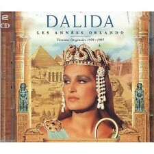 DALIDA - Les annees orlando 1970 - 1997 - 2 CD 1997 NEAR MINT CONDITION (L)