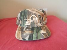 JIM CRUMLEY'S TREBARK CAMOUFLAGE HAT CAP / VOLVO GMC UD ST LOUIS ONE SZ SNAPBACK