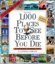 1,000 Places to See Before You Die Picture-A-Day Wall Calendar 2016, Schultz, Pa