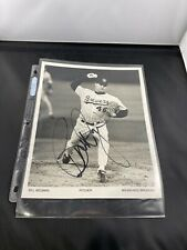 "Bill Wegman Milwaukee Brewers 8 X 10"" Signed Poster COA"