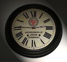 Atlantic Coast Line Florida Jacksonville Union Terminal Waiting Room Clock 1920s