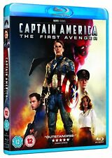 Captain America - The First Avenger (Blu-ray, Region Free) *NEW/SEALED*