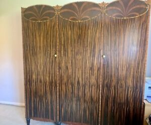 Art Nouveau Wardrobe Possibly Maples 1920/1930s