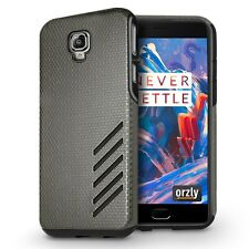 Orzly Grip Pro Case Cover for OnePlus 3 / OnePlus 3T / OnePlus Three - GREY