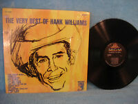 Hank Williams, The Very Best of Hank Williams, MGM Records SE 4168 COUNTRY