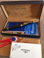 WATERMAN MAN 100   FRENCH REVOLUTION BICENTENNIAL FOUNTAIN PEN   NEW IN WOOD BOX