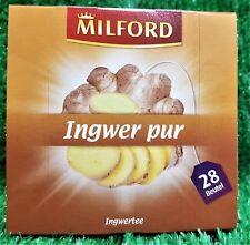 (4,09€/100g€)  Milford Tee INGWER PUR , 28 Beutel  Vorratspackung