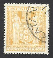New Zealand #AR46 1931-9 Postal Fiscal 1/3 lemon very fine used
