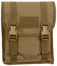 Tactical MOLLE Utility M16 Rifle Magazine Pouch Coyote Brown Rothco 5724