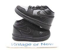 Nike Air Jordan Alpha I 1 Black TD 2012 sz 7C