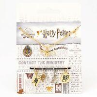 Harry Potter™ Multi Charm Necklace & 5 Pack Harry Potter Trinkets New & Sealed