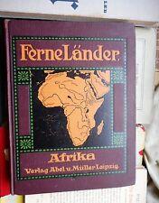 Otto Gantzer: lointain Pays Afrique une Pays-et peuples client Abel & Müller