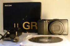 Ricoh GR 16.2MP Digital Camera - Black
