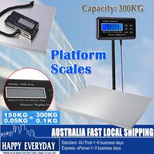 300kg/0.1kg Electronic Digital Platform Shop Scale Parcel Postal Weight KG/LB/OZ