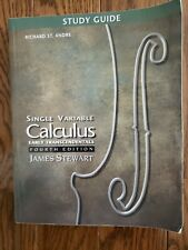 Calculus - 4th edition - STUDY GUIDE - JAMES STEWART (Single Variable)