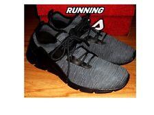NWB Gray & Black FILA LOMBARDI Running Cross Training Shoes Sz 9.5   *FREESHIP*
