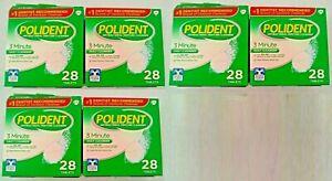 Antibacterial Daily Denture Cleanser 28 Per Box Lot Of 6 ~168 Total Tablets