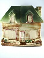 Vintage McCoy Cookie House Cookie Jar Repaired Break