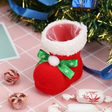 Cute Candy Holder Bag Boot Christmas Home New Year Xmas Party Stocking Gifts 1pc