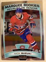 NICK SUZUKI MARQUEE ROOKIE 19-20 OPC O PEE CHEE PLATINUM NHL CANADIANS #164