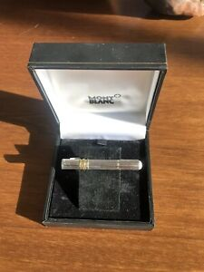 Montblanc Sterling Silver Tie Clip (New in Box)