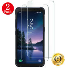 [2-PACK] Samsung Galaxy S8 Active (AT&T) Clear Tempered Glass Screen Protector