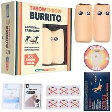 Throw Throw Burrito Kartenspiel Family Party Spiel Kartenspiel - 2-6 Spieler