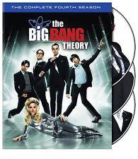 Big Bang Theory ~ Complete Fourth Season 4 Four ~ BRAND NEW 3-DISC US DVD SET