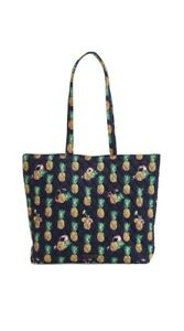 """Vera Bradley """"Toucan Party"""" Pineapple Essential Tote Bag Purse In Cotton NWT $59"""
