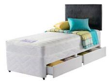Layezee Divan Beds with Open Spring Mattresses