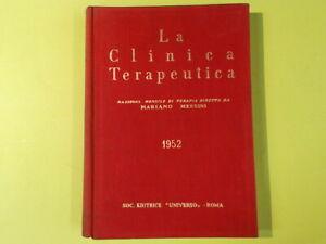 LA CLINICA TERAPEUTICA MESSINI UNIVERSO 1952
