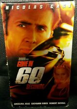 Gone in 60 Seconds (VHS, 2000) starring Nicolas Cage & Angelina Jolie