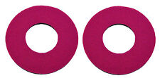 Flite old school BMX bicycle grip foam donuts - MAGENTA PINK *MADE IN USA*