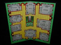 CLUE board game~1949 Game Board ONLY~Waddington/Parker Brothers