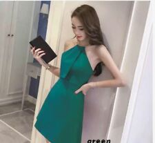CHOKER DRESS PLAIN (JLH) - GREEN