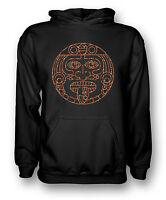 Aztec Tribal Tongue Tattoo - Mens Hoodie
