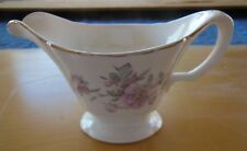 Edwin M. Knowles China Co Creamer w/ Pink Peonies Flowers Semi Vitreous #45-3