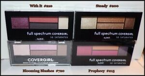 NEW ~ COVERGIRL Full Spectrum So Saturated Quad Eyeshadow Palette  CHOOSE SHADE