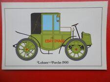 POSTCARD LOHNER PORCHE CAR AUSRIA 1901