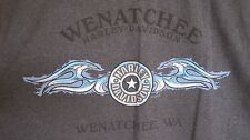 Harley Davidson Wenatchee WA T-Shirt Size XL