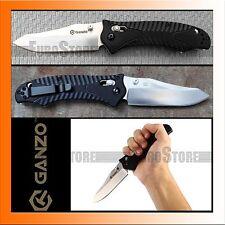 Authentique couteau GANZO g710 couteau pliant/440 C/g10/Axis lock/Noir
